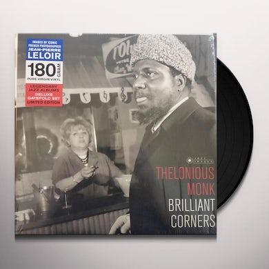Thelonious Monk BRILLIANT CORNERS (COVER PHOTO JEAN-PIERRE LELOIR) Vinyl Record