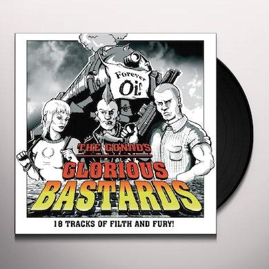 Gonads GLORIOUS BASTARDS Vinyl Record