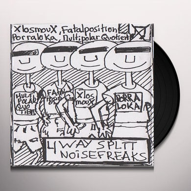 4-Way Split 3 / Various Vinyl Record