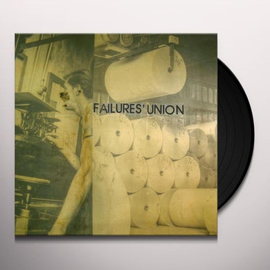 Failures' Union TETHERING Vinyl Record