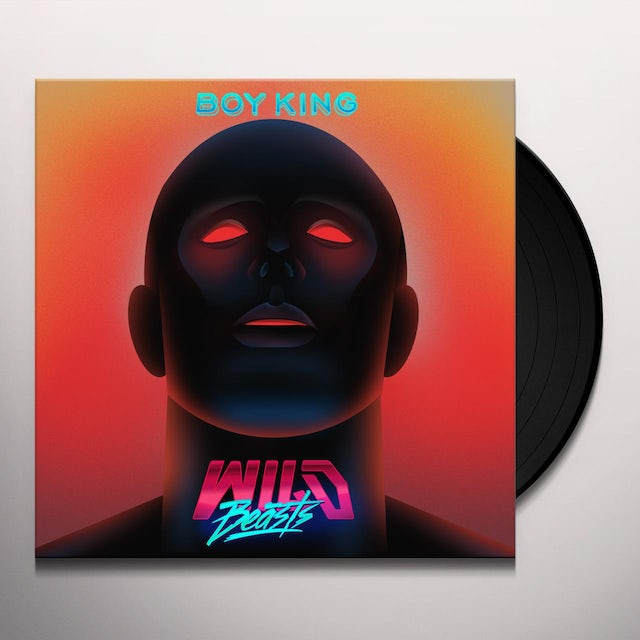 Wild Beasts BOY KING Vinyl Record