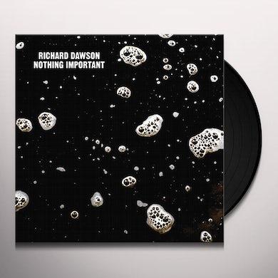 Richard Dawson NOTHING IMPORTANT Vinyl Record - UK Release