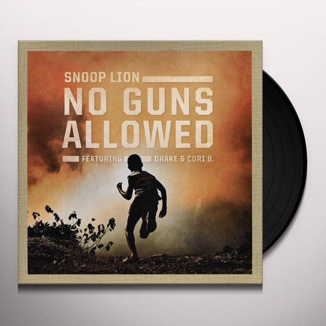 Snoop Dogg NO GUNS ALLOWED Vinyl Record