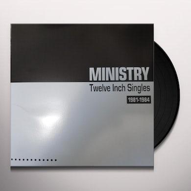 Ministry Twelve Inch Singles 1981 1984 (Silver Vi Vinyl Record