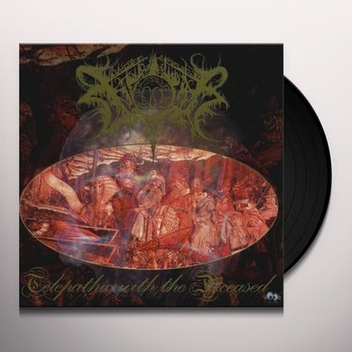 Xasthur TELEPATHIC WITH THE DECEASED Vinyl Record