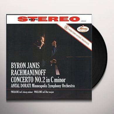 RACHMANINOFF / JANIS / DORATI / MINNEAPOLIS SYM PIANO CONCERTO NO 2 / 2 PRELUDES Vinyl Record