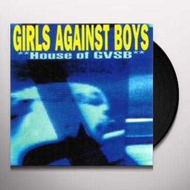 Girls Against Boys HOUSE OF GVSB Vinyl Record