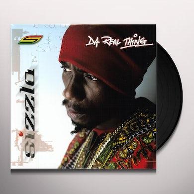 Sizzla DA REAL THING Vinyl Record