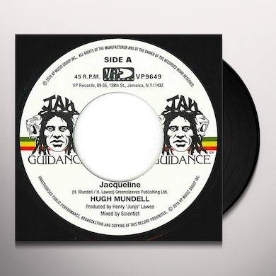 Hugh Mundell JACQUELINE Vinyl Record