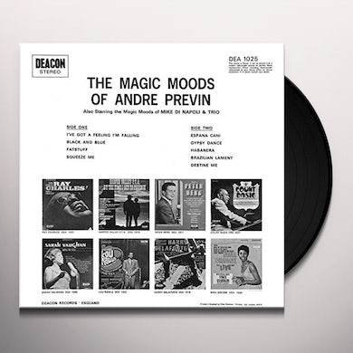 Andre Previn IN A POPULAR MOOD (EMILY) Vinyl Record