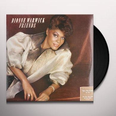 Dionne Warwick FRIENDS Vinyl Record