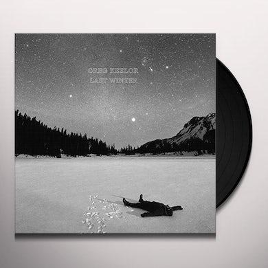 Greg Keelor LAST WINTER Vinyl Record