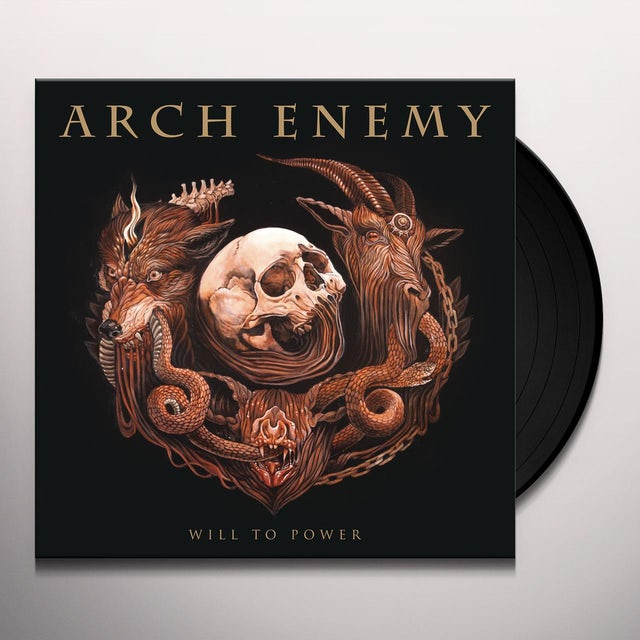 Arch Enemy WILL TO POWER Vinyl Record