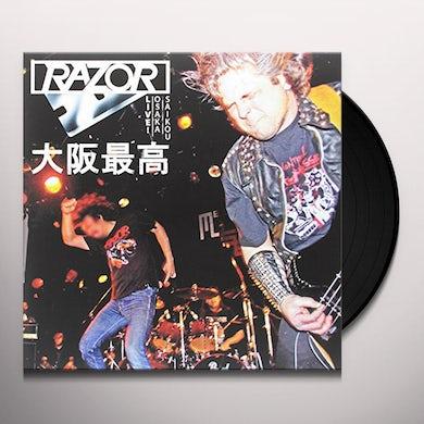 Manilla Road CRYSTAL LOGIC (TRANSPARENT BLUE VINYL) Vinyl Record