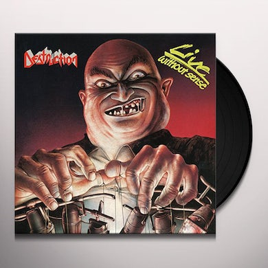 Destruction LIVE WITHOUT SENSE Vinyl Record