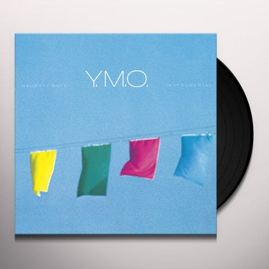 Yellow Magic Orchestra NAUGHTY BOYS - INSTRUMENTAL (STANDARD VINYL ED.) Vinyl Record