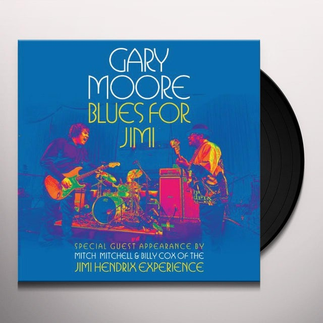 Gary Moore BLUES FOR JIMI Vinyl Record