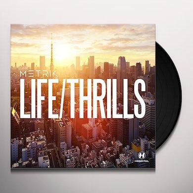 Metrik LIFE / THRILLS Vinyl Record