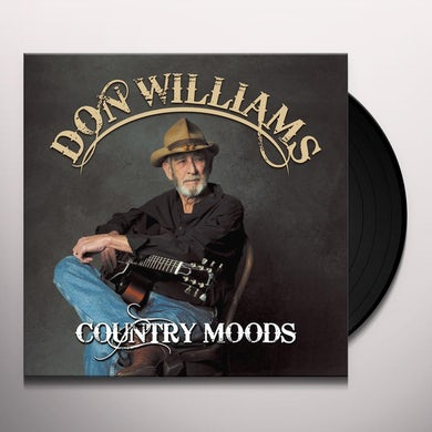 Don Williams COUNTRY MOODS Vinyl Record