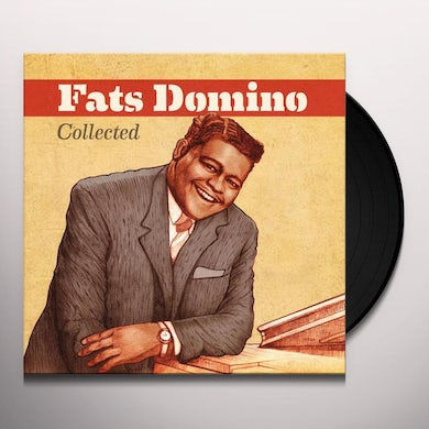 Fats Domino COLLECTED Vinyl Record
