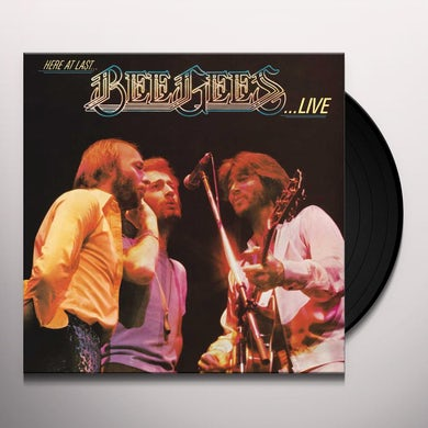 HERE AT LAST: BEE GEES LIVE Vinyl Record