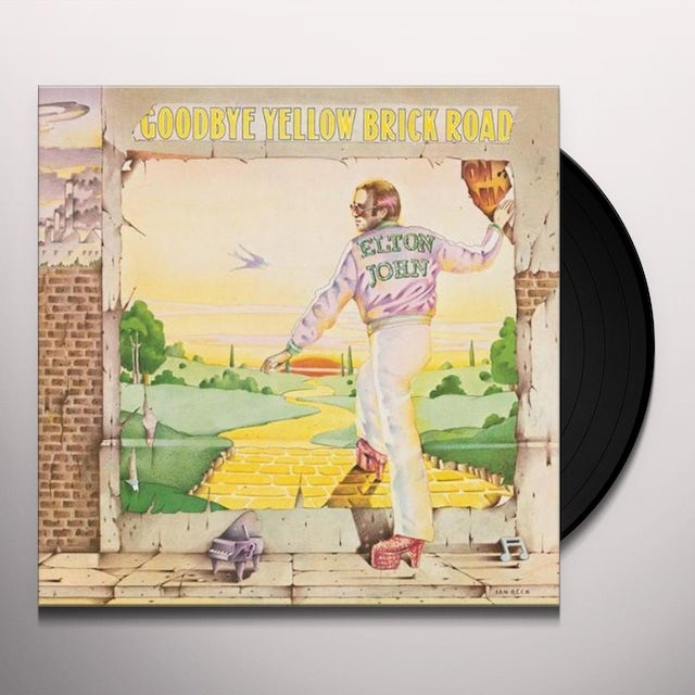 Elton John GOODBYE YELLOW BRICK ROAD Vinyl Record