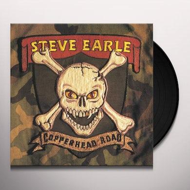 Steve Earle & The Dukes COPPERHEAD ROAD Vinyl Record