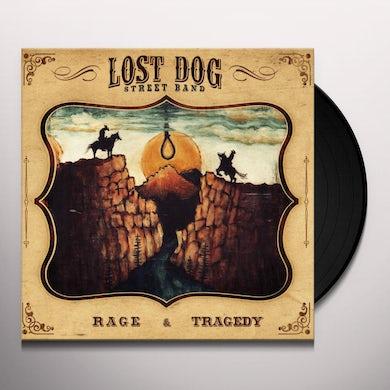 Lost Dog Street Band RAGE & TRAGEDY Vinyl Record