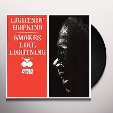 Lightnin Hopkins SMOKES LIKE LIGHTNING Vinyl Record