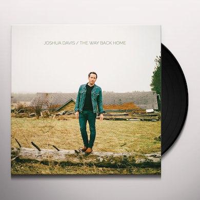 Joshua Davis WAY BACK HOME Vinyl Record