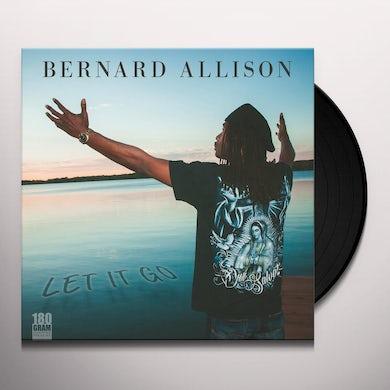 Bernard Allison LET IT GO Vinyl Record