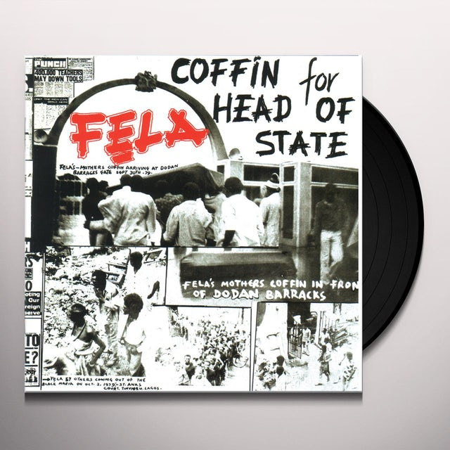 Fela Kuti COFFIN FOR HEAD OF STATE Vinyl Record