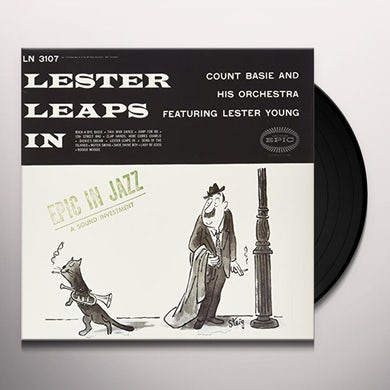 Lester Young LESTER LEAPS IN Vinyl Record