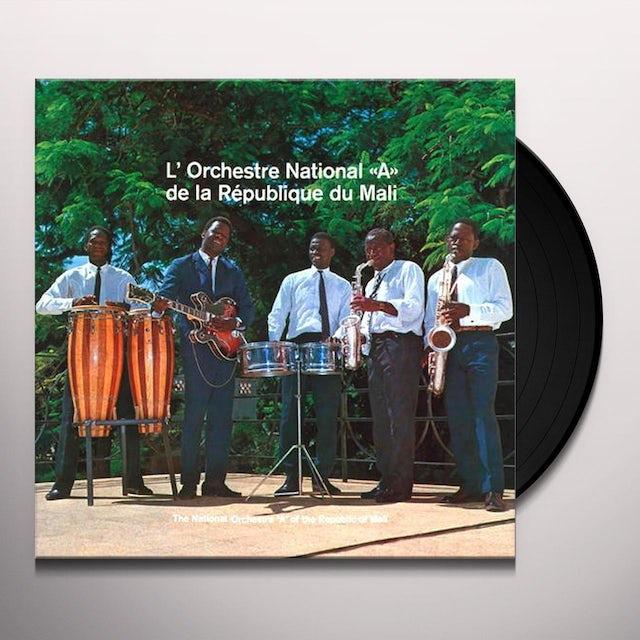 Lorchestre National A De La Republique Du Mali Vinyl Record