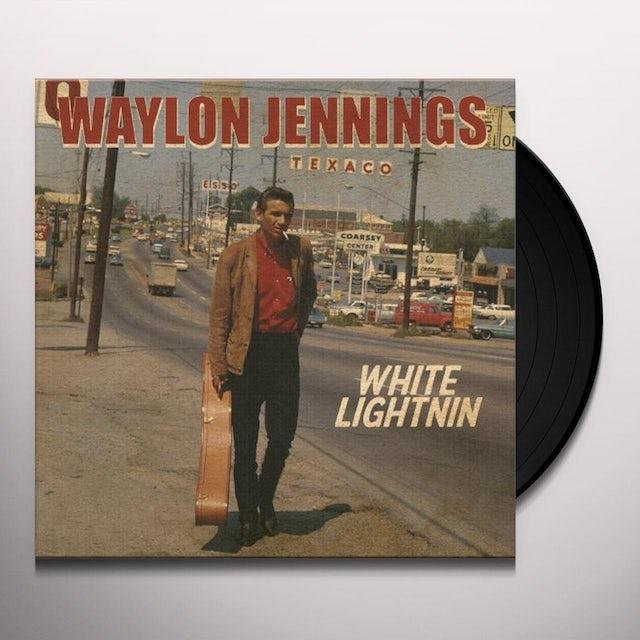 Waylon Jennings WHITE LIGHTNIN Vinyl Record