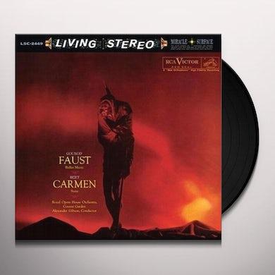 Gibson GOUNOD: FAUST BALLET MUSIC / BIZET: CARMEN SUITE Vinyl Record