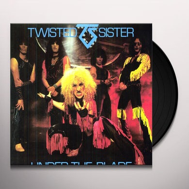 Twisted Sister UNDER THE BLADE Vinyl Record