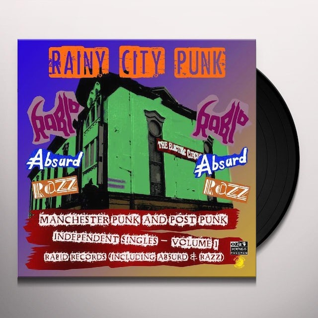 Rainy City Punks / Various Vinyl Record
