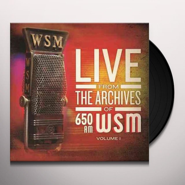 650 Am Wsm Live From The Archives 1 / Various Vinyl Record