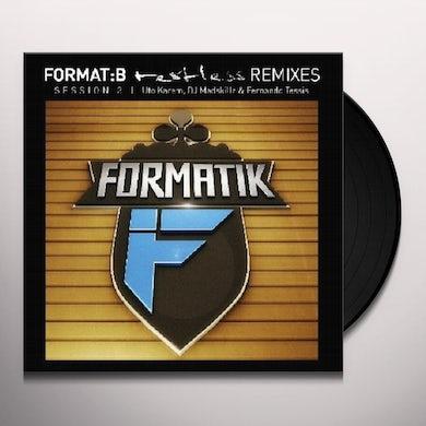 FORMAT:B - RESTLESS: REMIXES SESSION 3 Vinyl Record