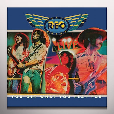 Reo Speedwagon YOU GET WHAT YOU PLAY FOR Vinyl Record