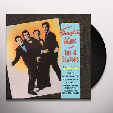 Frankie Valli & The Four Seasons Anthology: Greatest Hits Vinyl Record