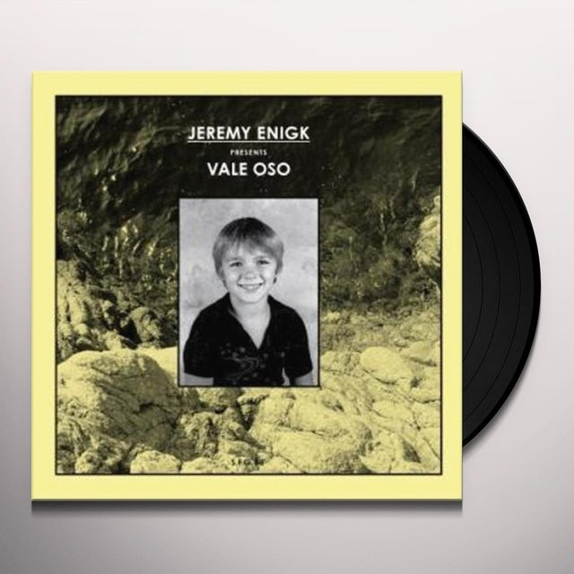 Jeremy Enigk VALE OSO Vinyl Record - Portugal Release