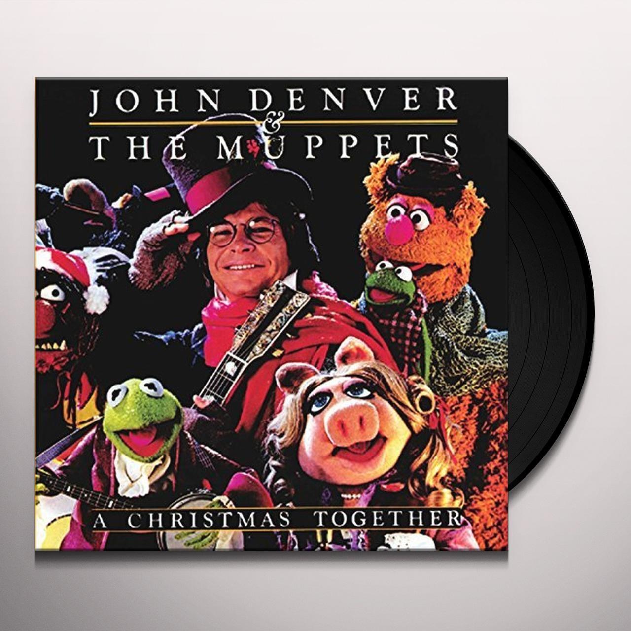 John Denver Christmas.John Denver The Muppets Christmas Together Vinyl Record