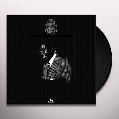 Freddy Cole COLE NOBODY KNOWS Vinyl Record