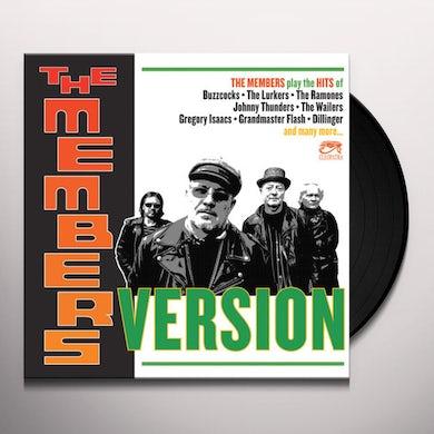 MEMBERS VERSION Vinyl Record