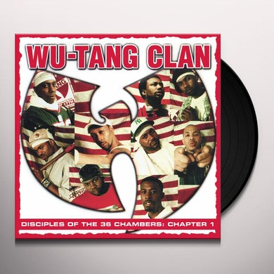 Wu-Tang Clan Disciples of The 36 Chambers: Chapter 1 (Live) Vinyl Record