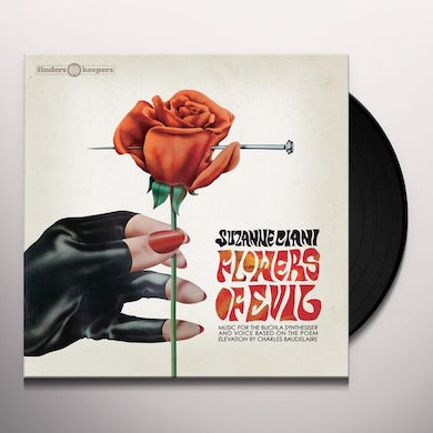 Suzanne Ciani  Flowers Of Evil Vinyl Record