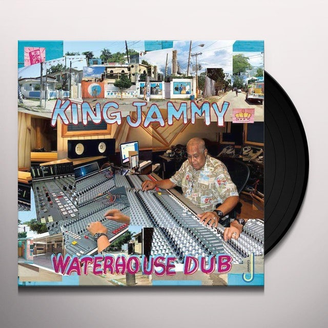 King Jammy WATERHOUSE DUB Vinyl Record