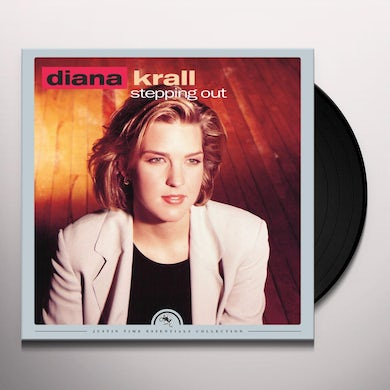 Diana Krall STEPPING OUT Vinyl Record